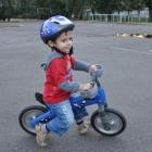Беспедальный велосипед