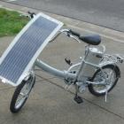 Необычный велосипед работающий на солнечной энергии