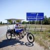 Велосипед на солнечных батареях из Волгограда прошел обкатку